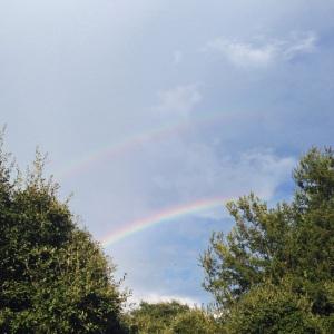 double rainbow 9.7.2014