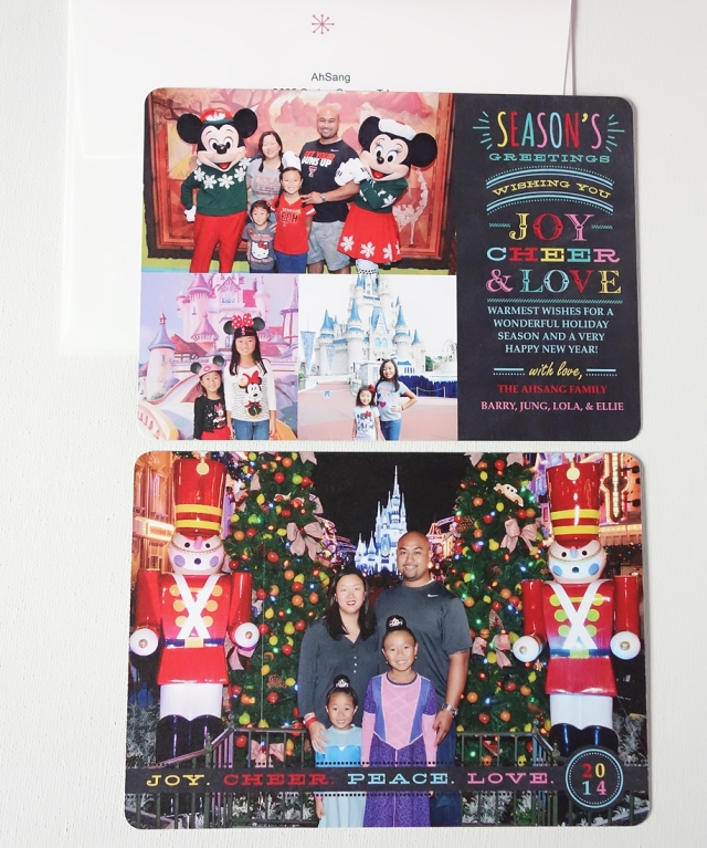 ahsang Christmas card