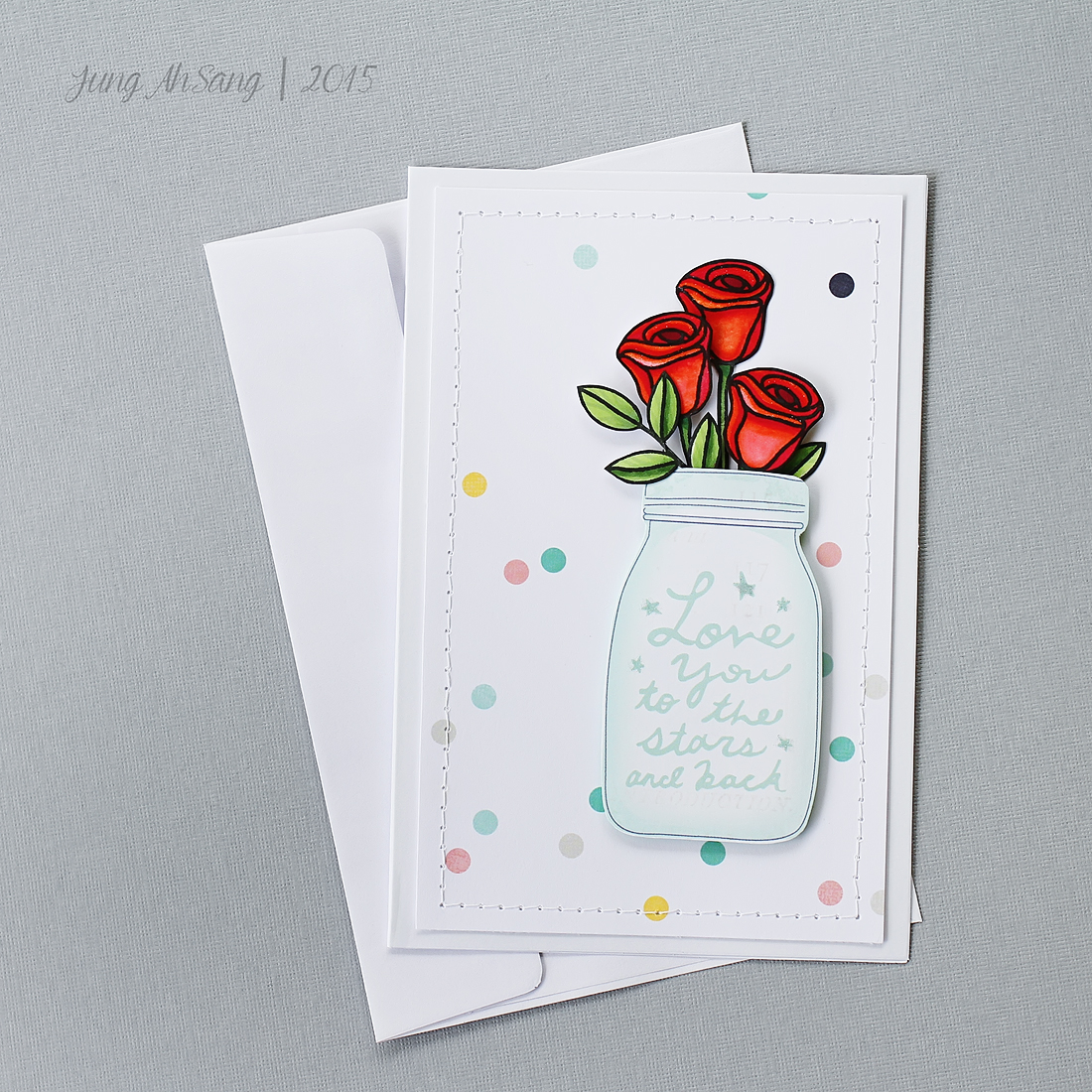 2 cards using simon says stamp best mom ever stamp set jung ahsang ahsang rose card 1 kristyandbryce Choice Image