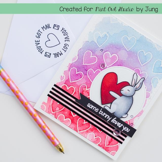 ahsang MOS bunny heart 2