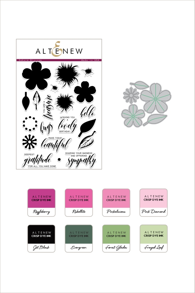 Sakura Blossom and Ink Bundle