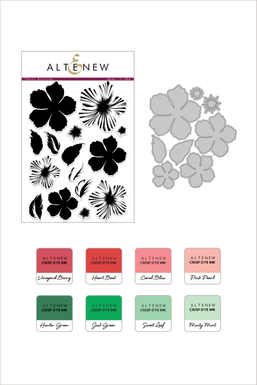 BAF Peony Blossom and Ink Bundle