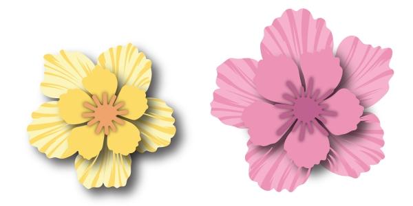 BAF Peony Blossom Sample 3D Flower