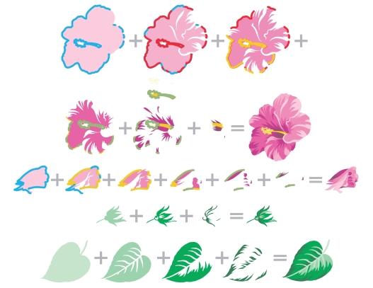 BAF Hibiscus Layering Guide