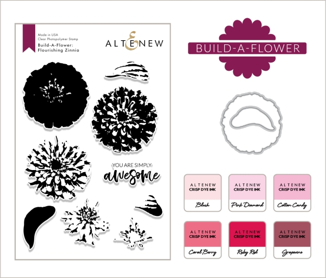 Blog Post BAF Flourishing Zinnia & Ink Bundle