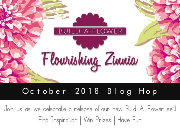 Flourishing Zinnia_Blog Hop