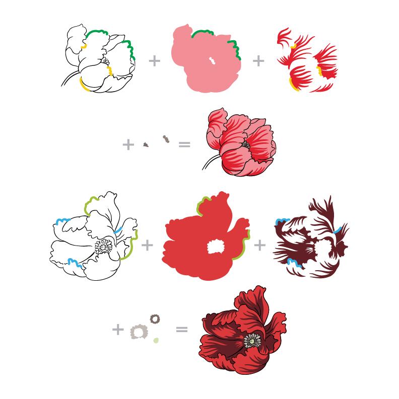 BAF Poppy Layering Guide